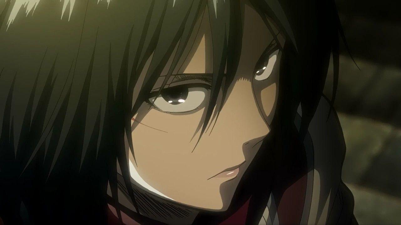 Mikasa Ackerman 6 Attack On Titan Anime Mikasa Attack On Titan