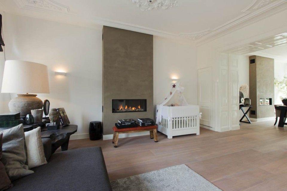 Clairz interior design project amsterdam zuid open haard pinterest