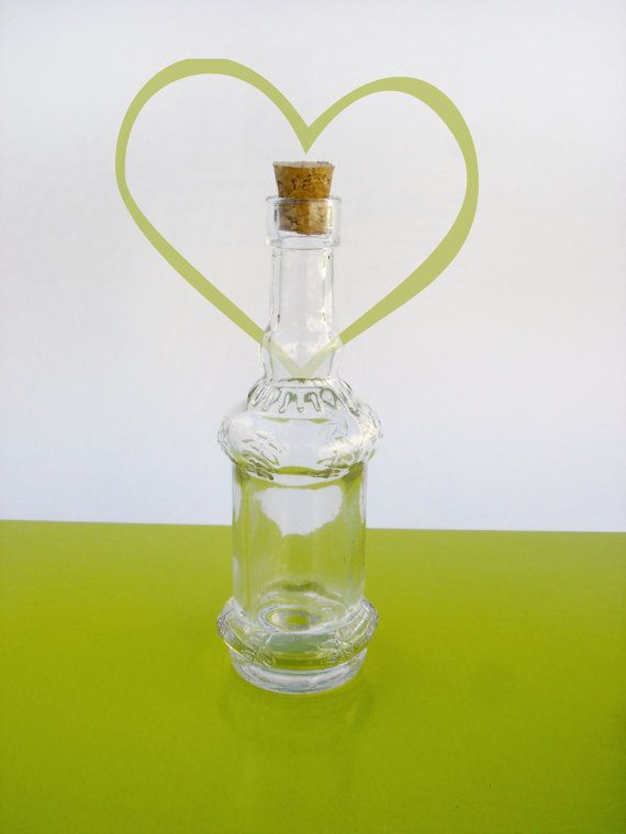 Glass Bottles Decorative Small Decorative Glass Bottle With Cork Style 1Shoptocreate