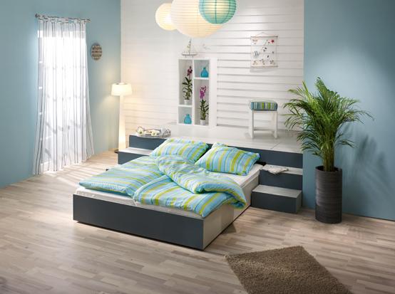 podestbett selber bauen die passende anleitung gibt 39 s. Black Bedroom Furniture Sets. Home Design Ideas