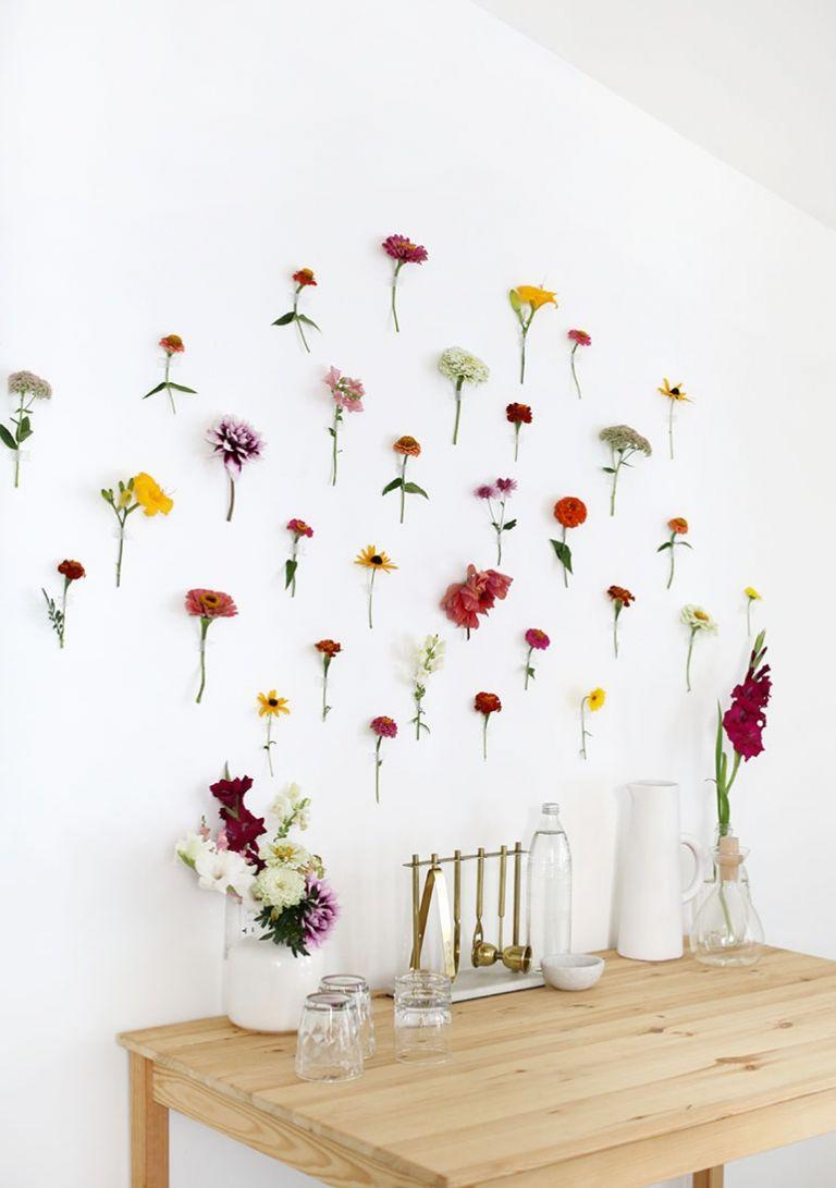 Diy floral wall backdrop diy flower wall wall backdrops