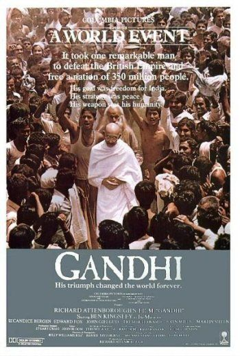 Gandhi....A remarkable man, a remarkable performance and an amazing and moving film