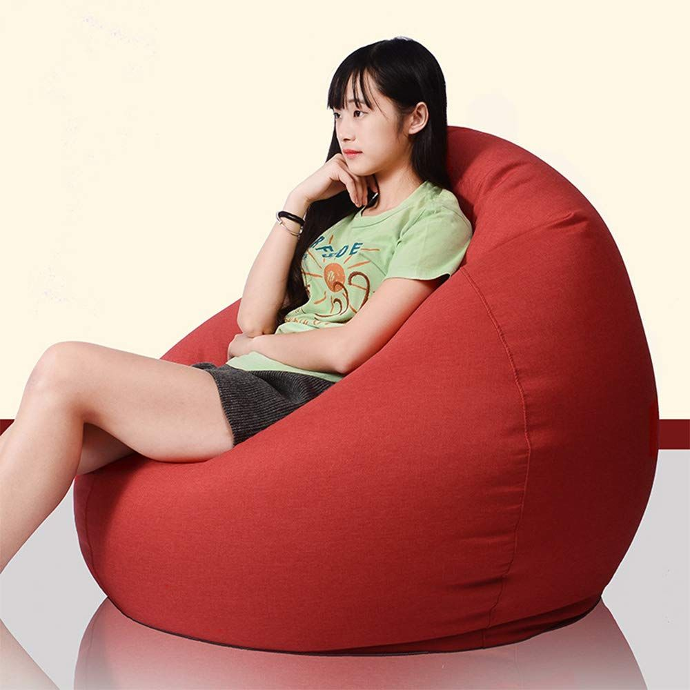 Singslife Extra Soft Beanbag Chair Memory Foam Bean Bag Seat Chair With Particle Filling And Micro Fiber Cover H In 2020 Bean Bag Sofa Lazy Sofa Bean Bag Living Room