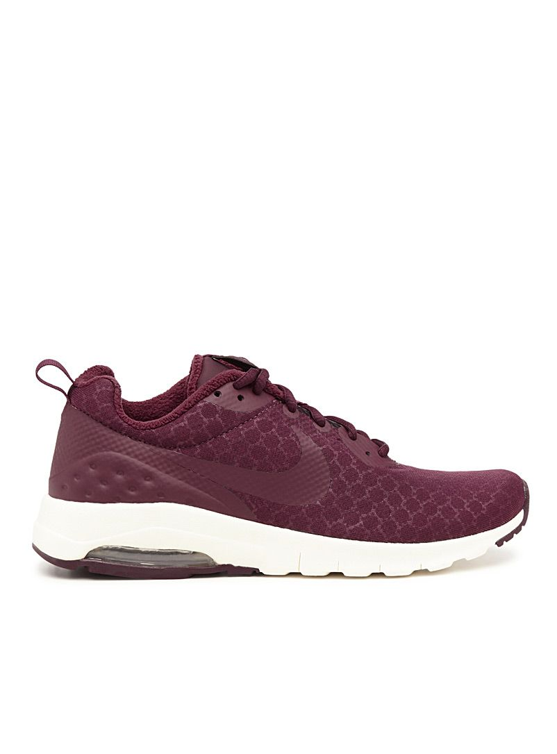 Maroon Nike Air Max Motion LW | Simons #maisonsimons #women #sneakers #shoes