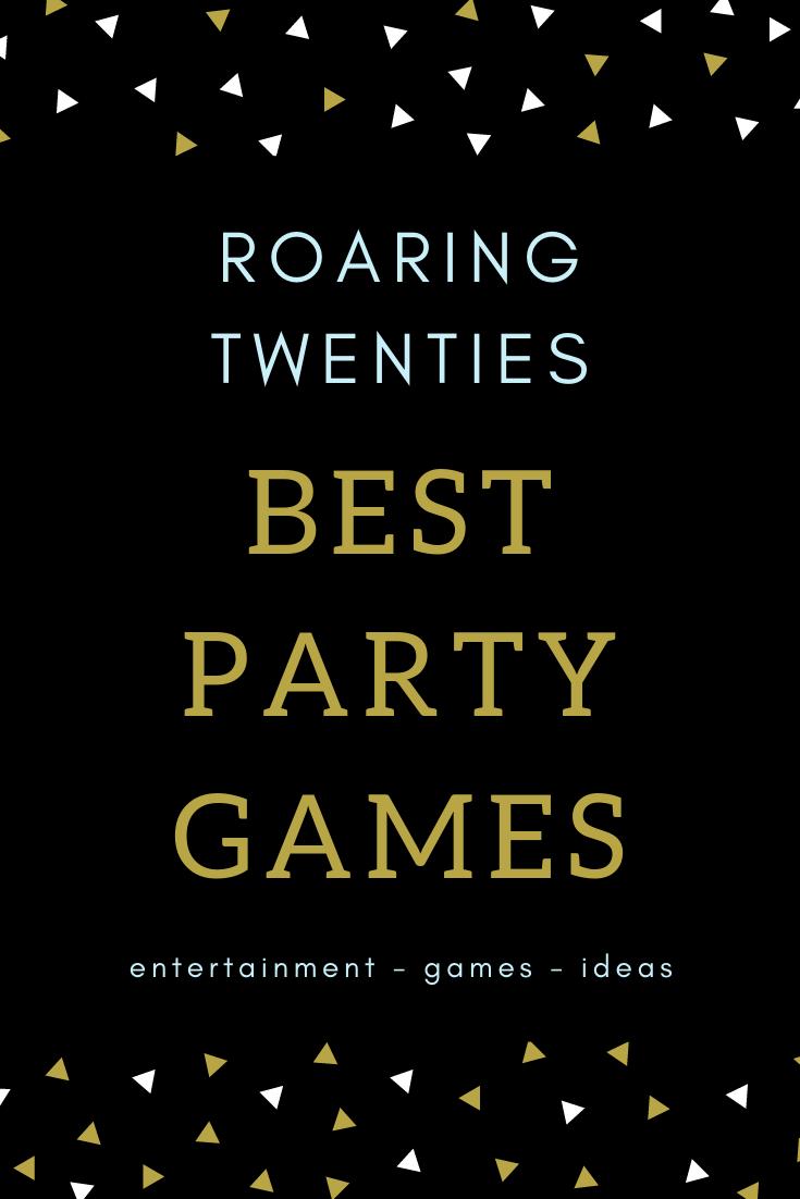 10 best roaring twenties party game ideas, sweet, savoury ...