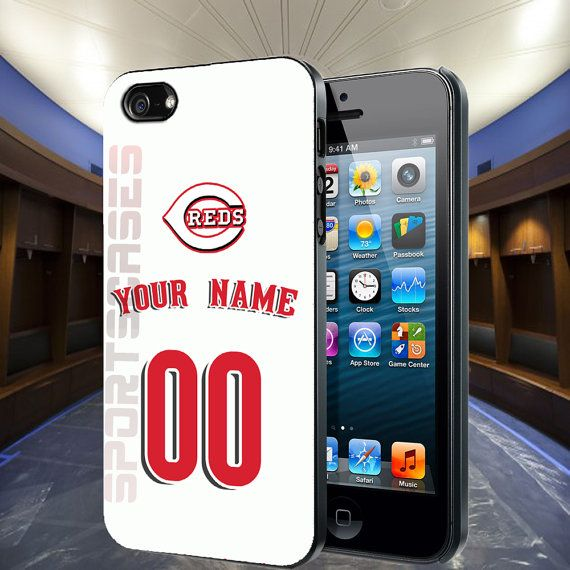 iPhone 4 Case  Personalized Cincinnati Reds Home by SportsCases, $13.99