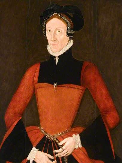 Portrait de Joan Tuckfield, 1560 école britannique