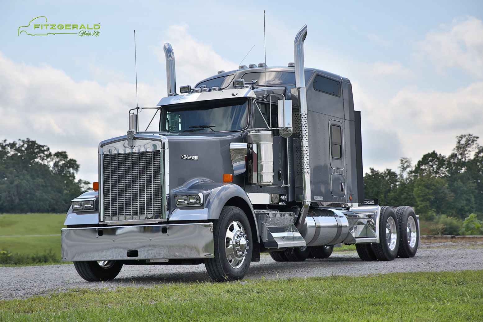 Kenworth w900 raised roof fitzgerald glider kits