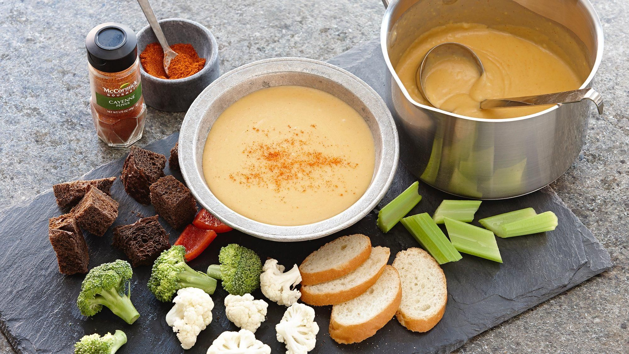 Spicy Beer Cheese Fondue Recipe (With images) Beer