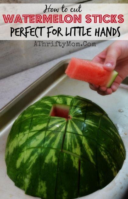 Watermelon Sticks on Pinterest | Cut Watermelon, Cut A Watermelon and ...