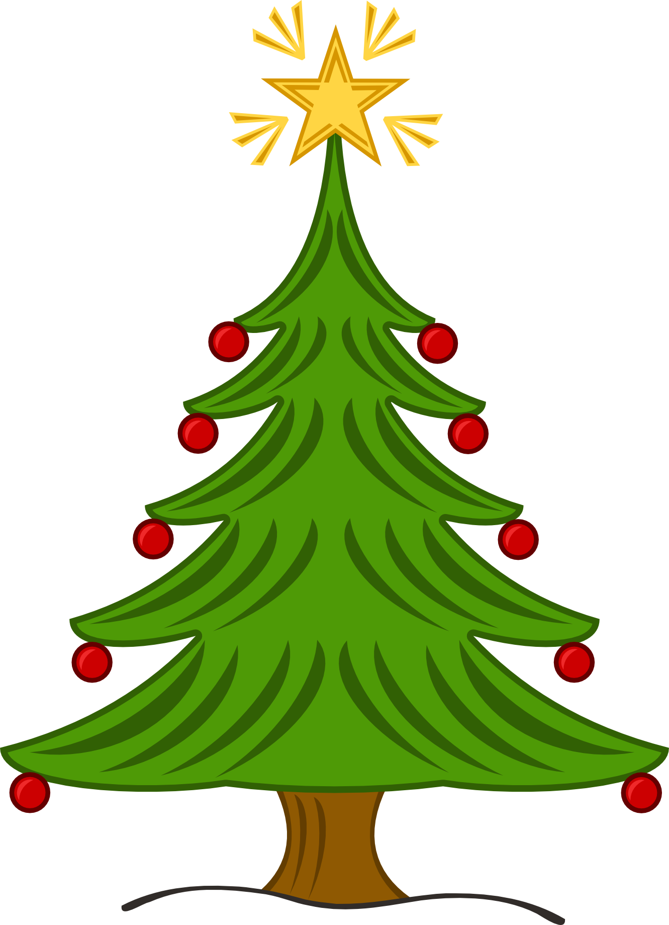 Pin By Mary Mccurdy On Natal Xxi Christmas Clipart Free Christmas Tree Images Christmas Tree Clipart