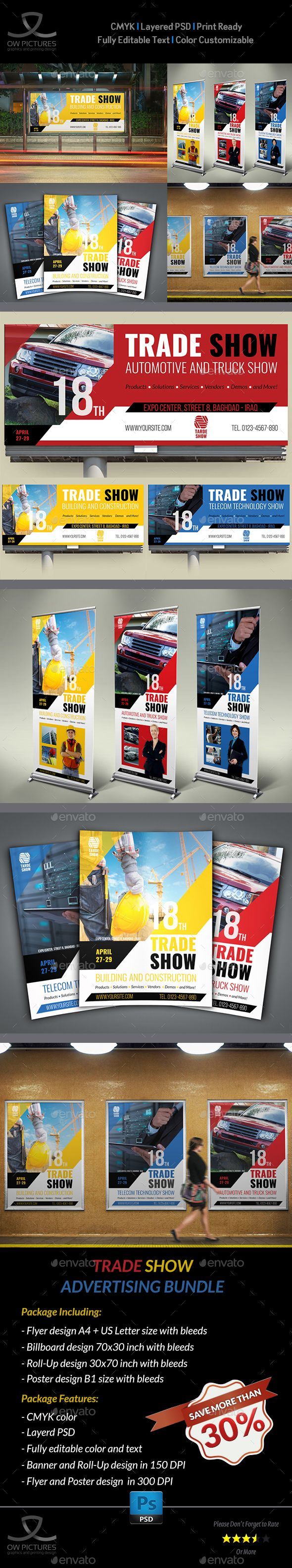 Trade Show Advertising Bundle by OWPictures Advertising Package Description : Tr...