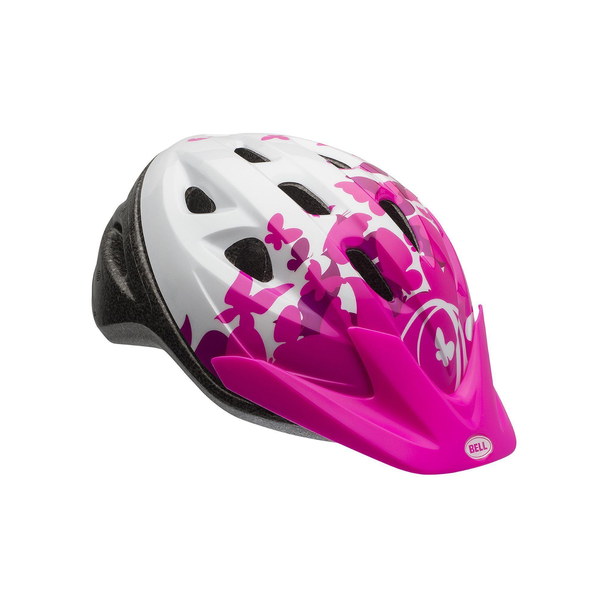 Youth Bell Rally True Fit Bike Helmet, Pink