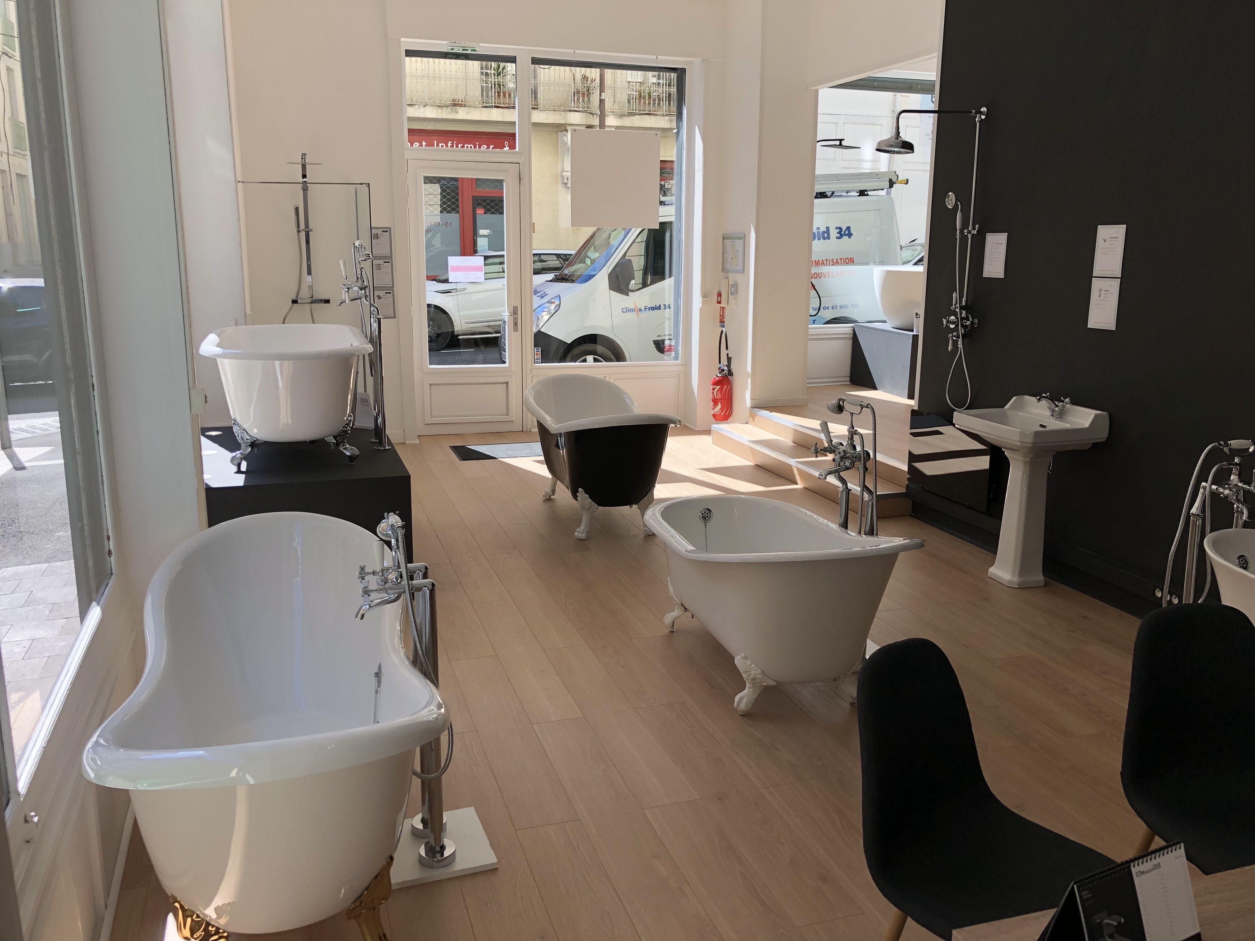 Nos showrooms salle de bain  Showroom salle de bain, Magasin