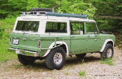 Broncofix Bronco Driver 4 Door Bronco For The 1966 77 Early