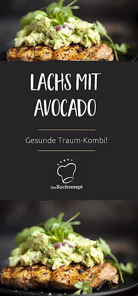 Lachs mit Avocado ist eine Traum-Kombi, denn sie schmeckt nicht nur unglaublich gut, sondern enthä