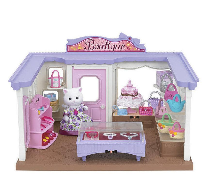 Calico Critters Boutique has everything critter girls need