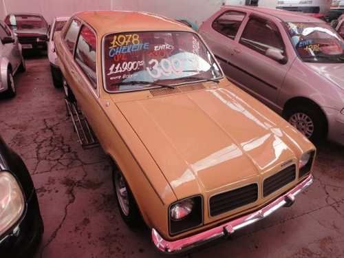 Gm Chevette 1 4 Bege 1978 1978 Chevette General Motors Bege