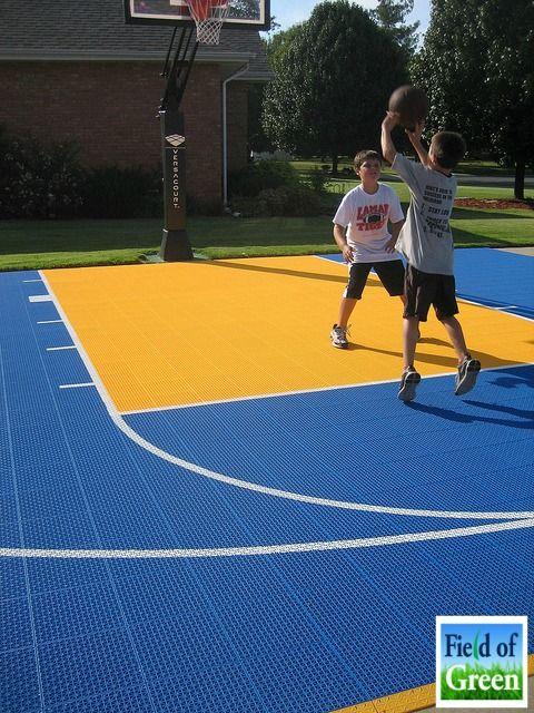 Versacourt Field Of Green Basketball Court Backyard Outdoor Basketball Court Backyard Basketball