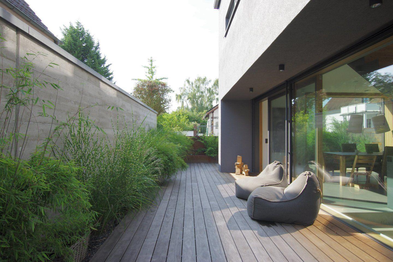 Ostterasse Einfamilienhaus Bei Karlsruhe Einfamilienhaus Architektur Gartengestaltung