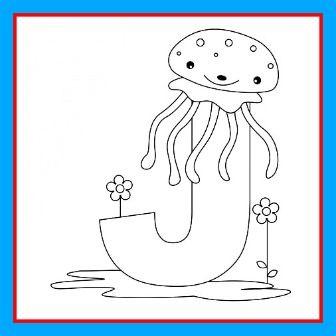Animal Alphabet Letter J for Jellyfish and Letter J Song