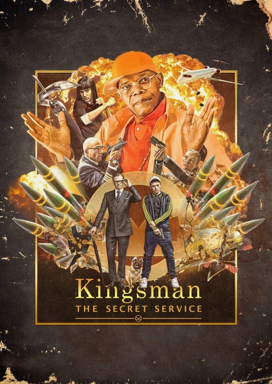 kingsman kingsmanfanart movieposter alternateposter