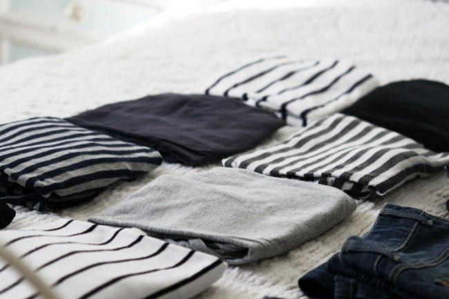Striped T shirts.