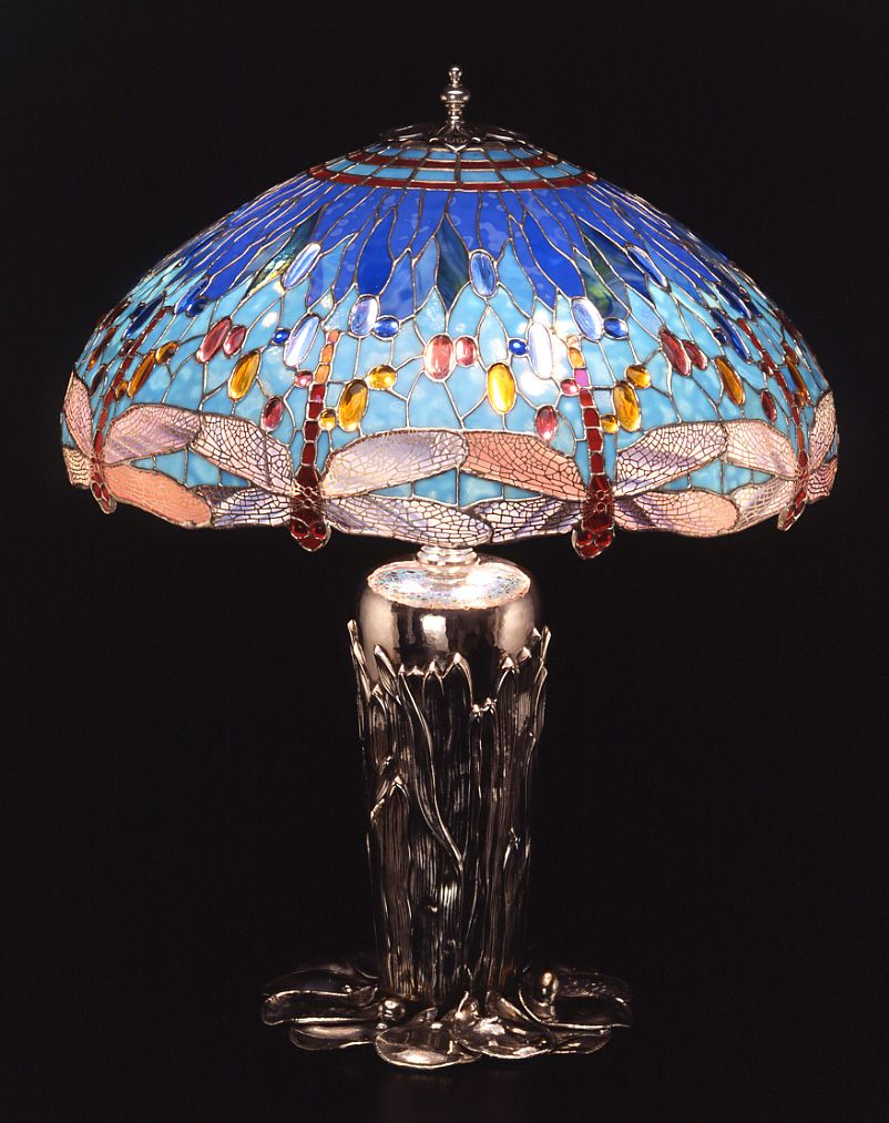 tiffany lamp...... Love the colors Tiffany inspired