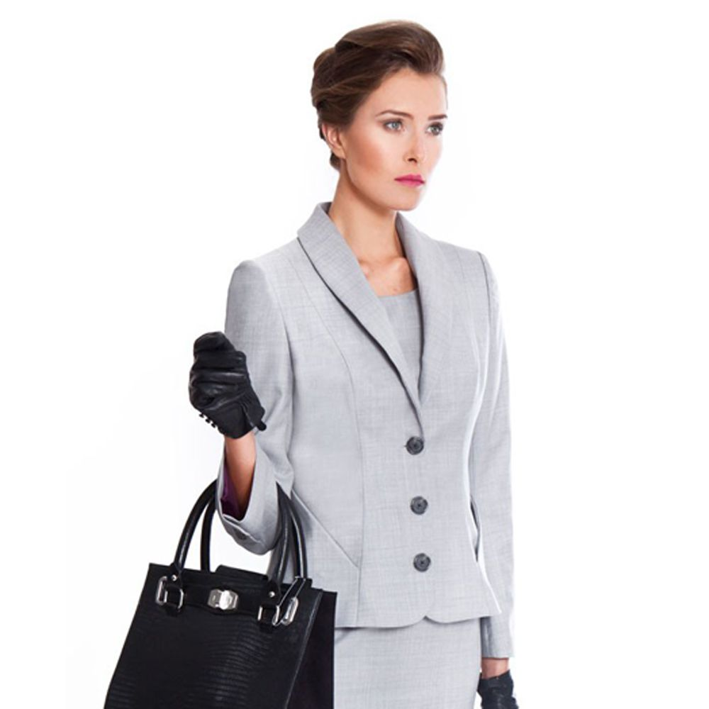 Penny Grey Ladies Suit Jacket by NOOSHIN (Savile Row) £339 ...