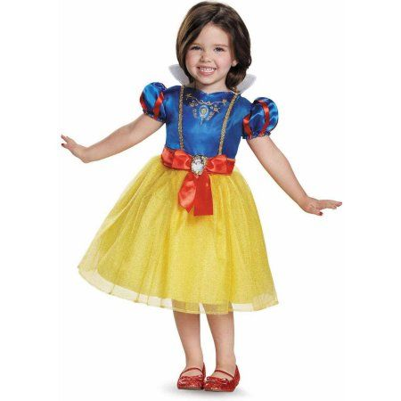 disney princess snow white classic toddler halloween costume toddler girls size 3t4t blue