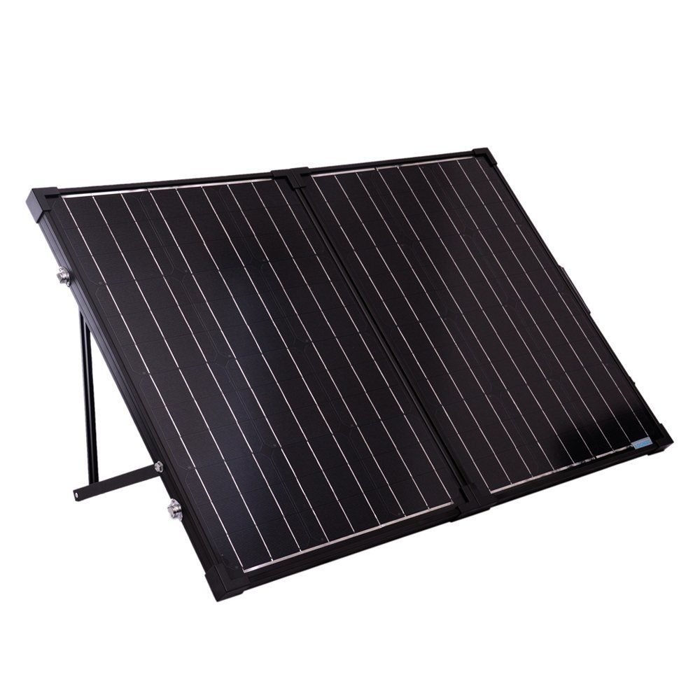 Amazon Com Renogy 100 Watts 12 Volts Monocrystalline Foldable Solar Suitcase Patio Lawn Garden Solar Panels Best Solar Panels Solar Power Panels