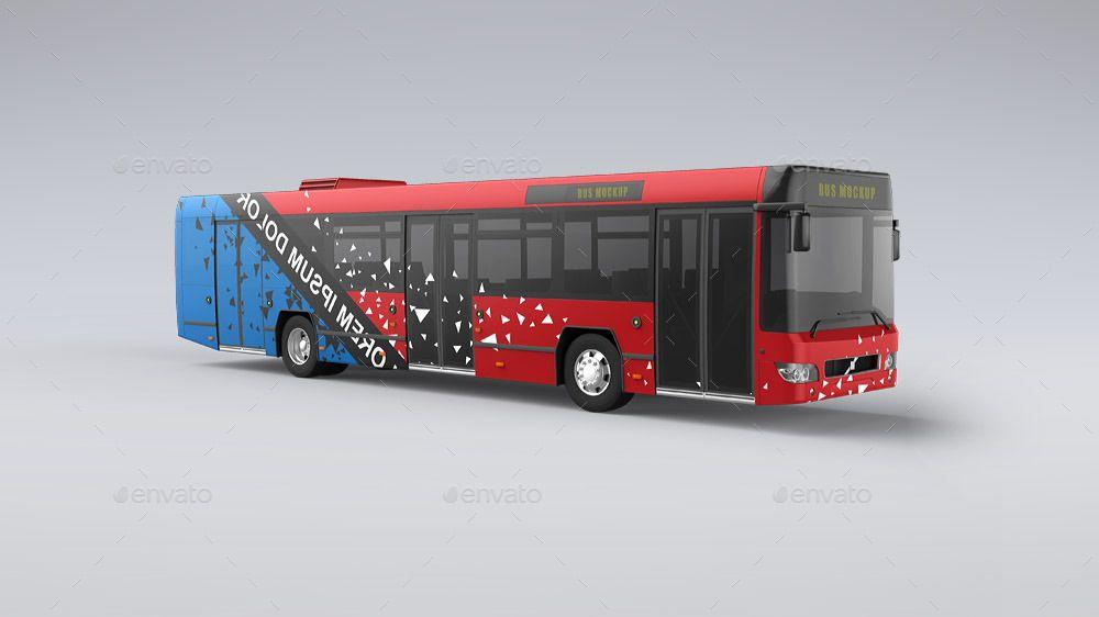 25 Best Bus Mockup Psd For Bus Advertising Bus Advertising Bus Wrap Bus
