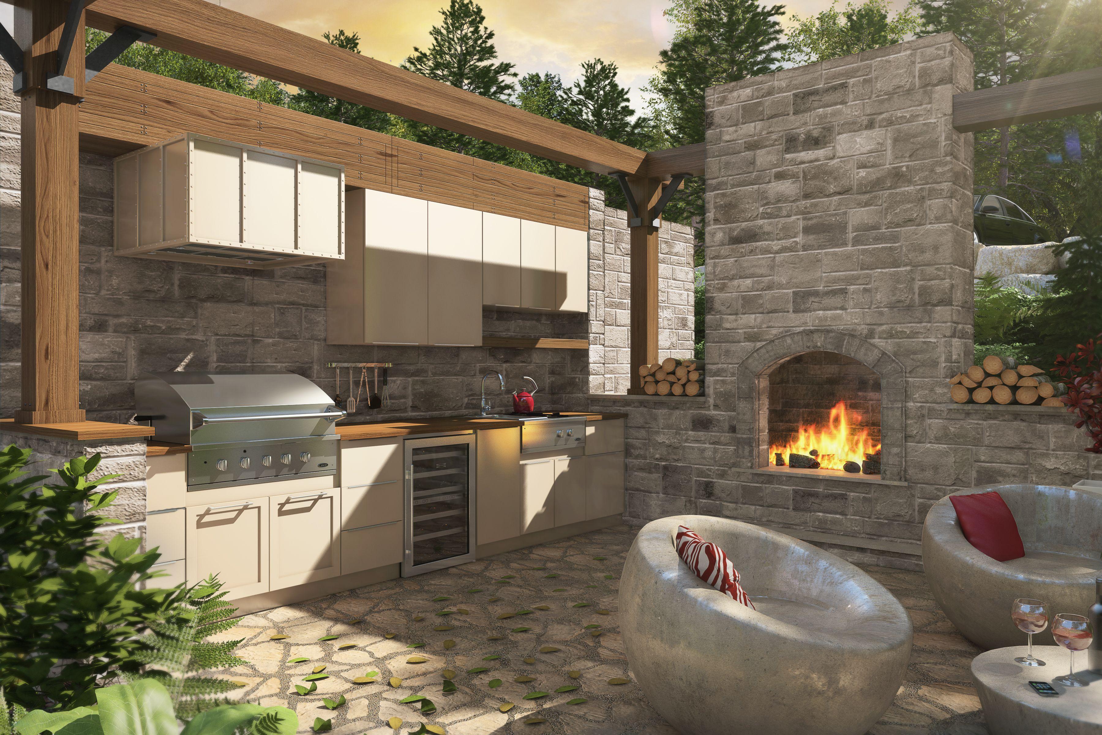 armoires de cuisine tendances concept cuisine ext rieure. Black Bedroom Furniture Sets. Home Design Ideas