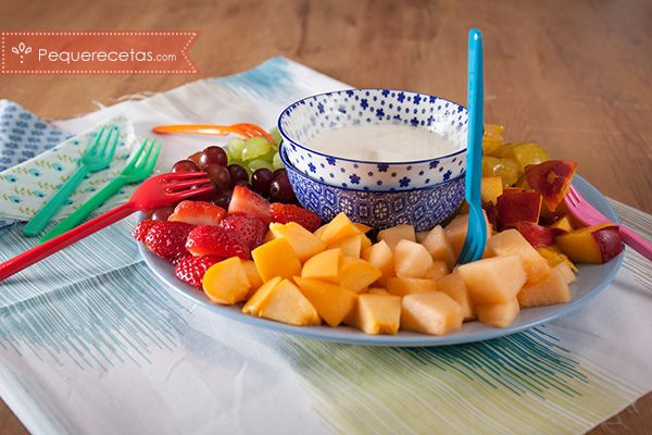 Fondue Fria De Frutas Y Yogur Sana Y Deliciosa Recetas De