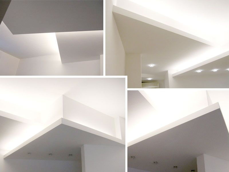 Idee Controsoffitti in Cartongesso Design del soffitto