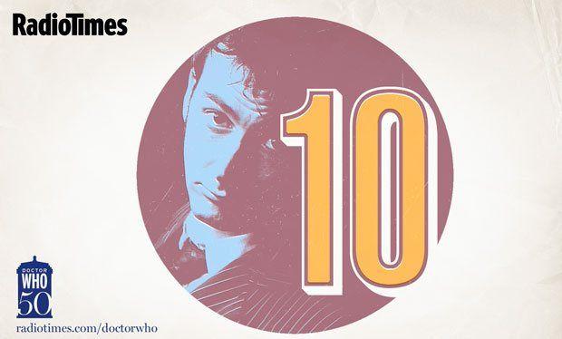 Doctor Who 50th: tenth doctor David Tennant desktop wallpaper