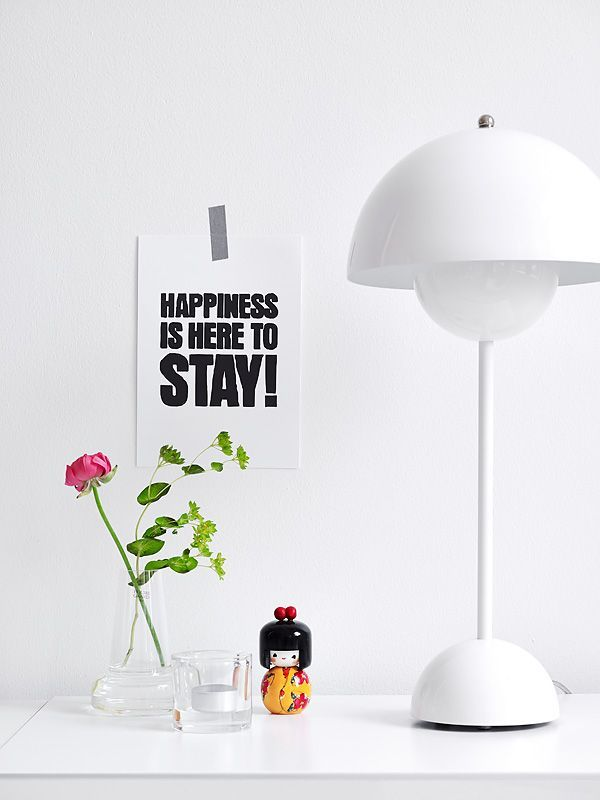 Funny Lamp the flowerpot table lamp looks so modern, funny considering the