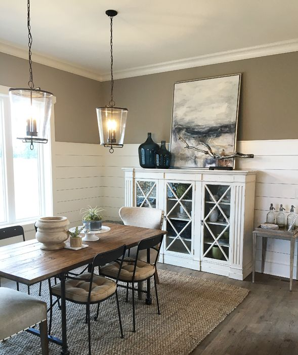 2016 BIA Parade Of Homes Elegant Dining RoomRustic