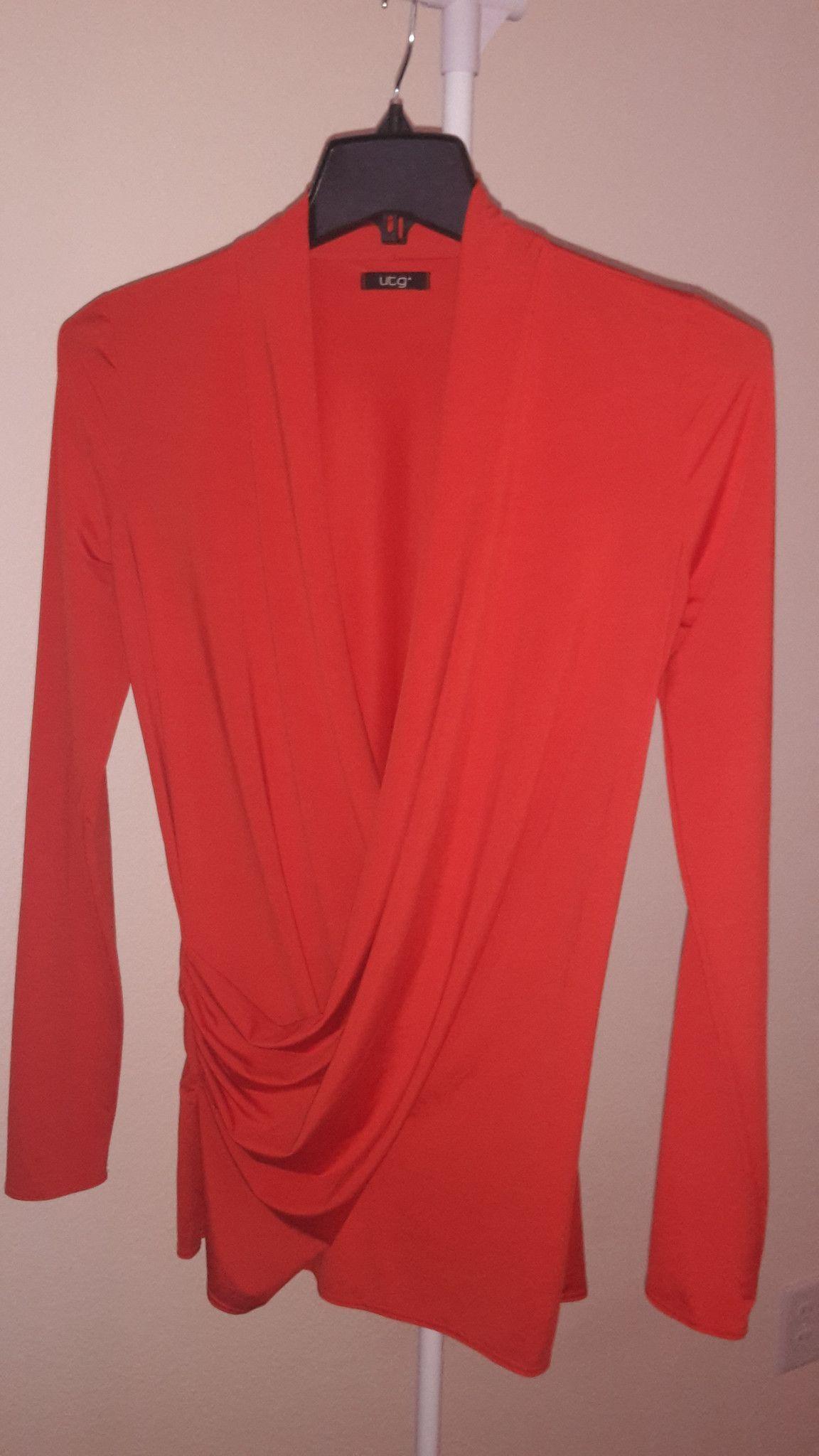 UTG Womens wrap blouse