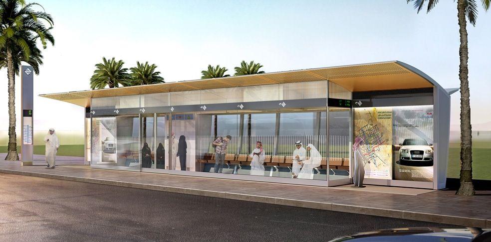 Riyadh Bus Rapid Transit Stations Transporte