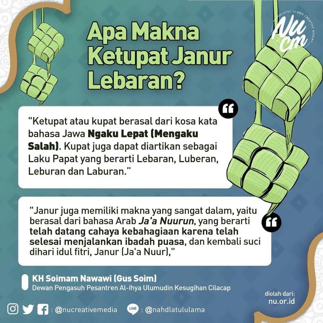 Ketupat Memiliki Arti Tersendiri Bagi Masyarakat Indonesia