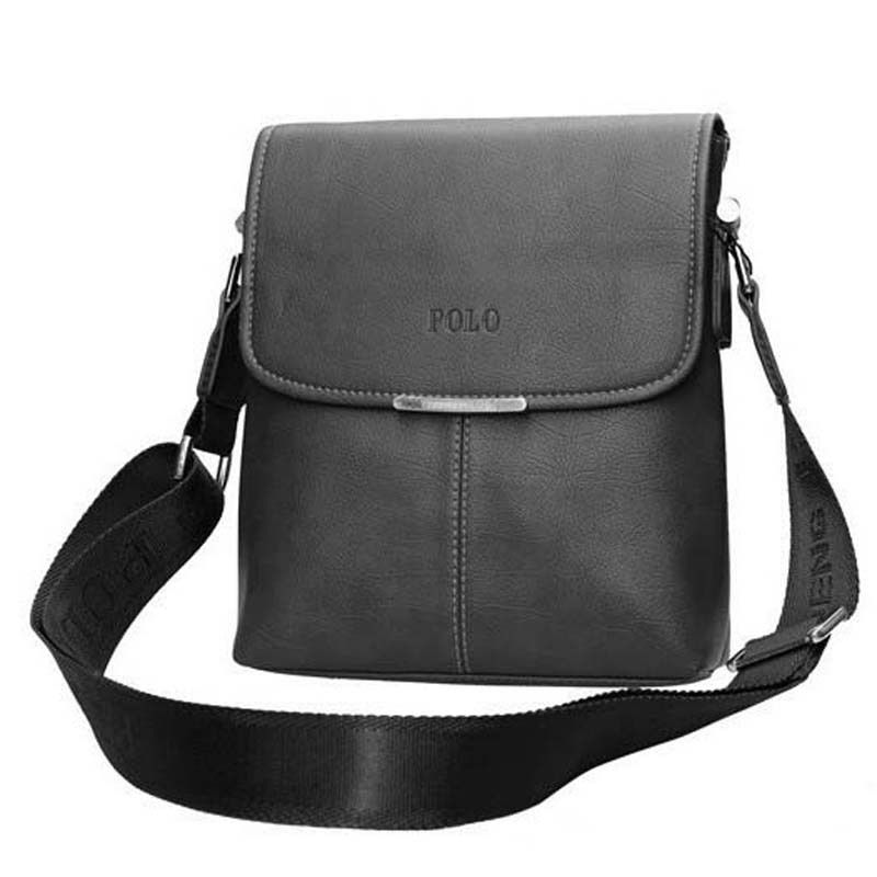 e48333e07e1e Leather Men Bag Casual Business Vintage Men s Crossbody Bag ...