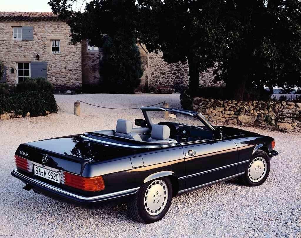 Mercedes-Benz Baureihen: Die 107er (1971 bis 1989): Mit acht Zylindern zum Erfolg  – Fotostrecke