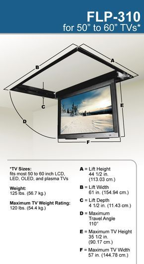 Flp 310 Product Dimensions Gazebo Ceiling Tv Mounted Tv Wall