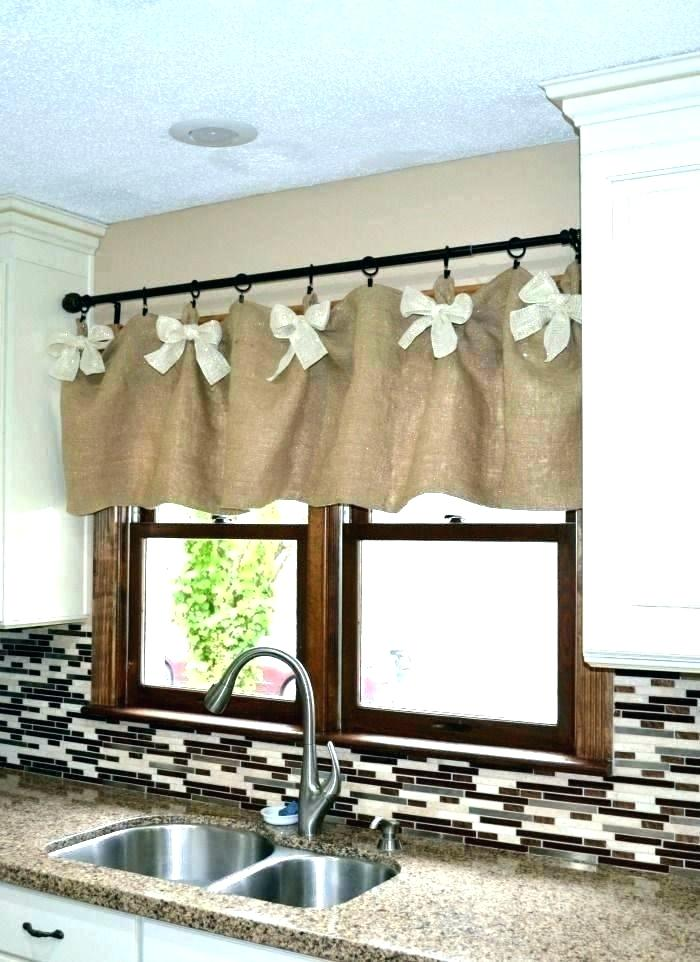 Burlap Window Treatments Valance Bedroom And Lace Faustin In 2020 Easy Home Decor Kitchen Window Valances Diy Valance