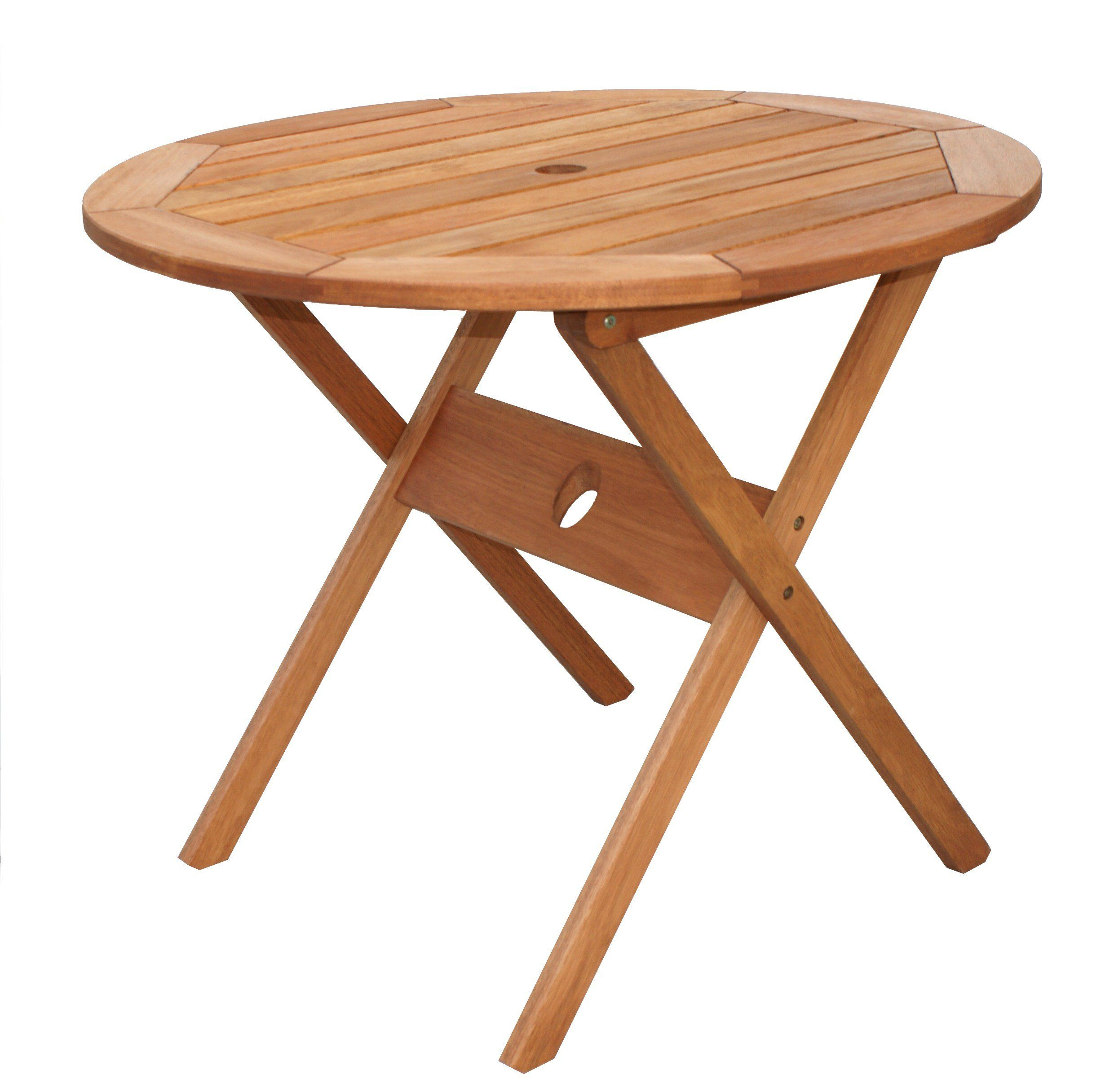 Amazonia Bistro Folding Eucalyptus Table See This Fantastic