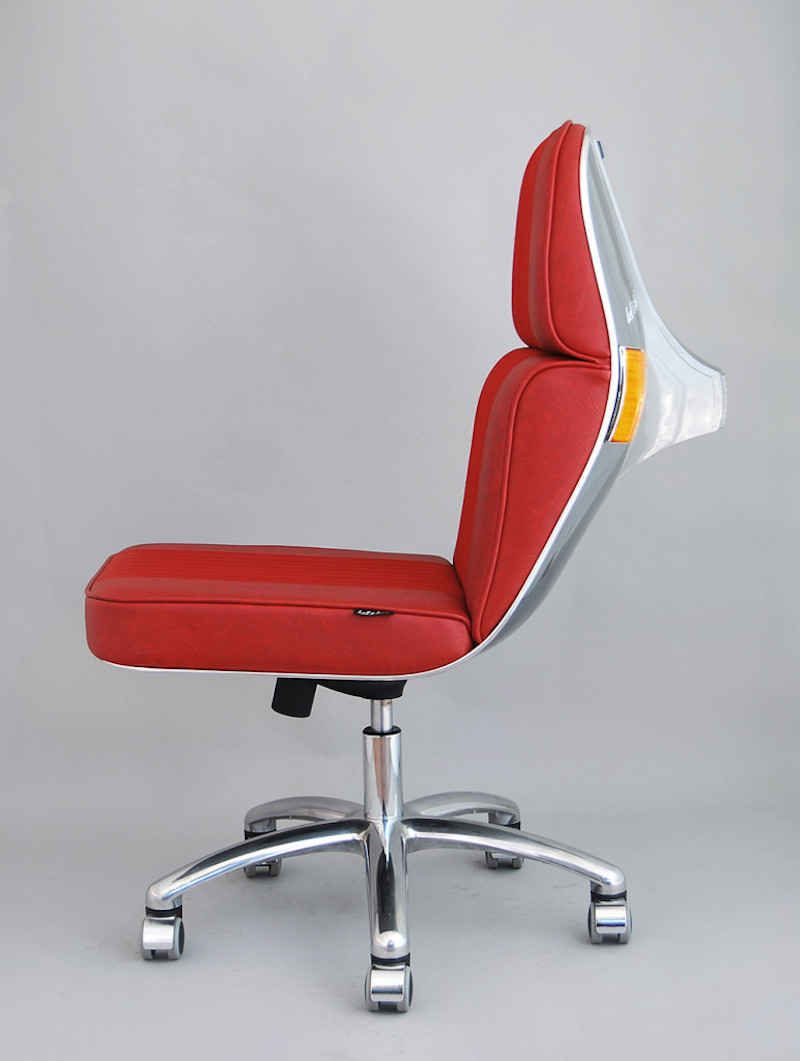 recycled vespa office chairs. Stylish Office Chairs Made From Vintage Vespa Parts - UltraLinx Recycled E