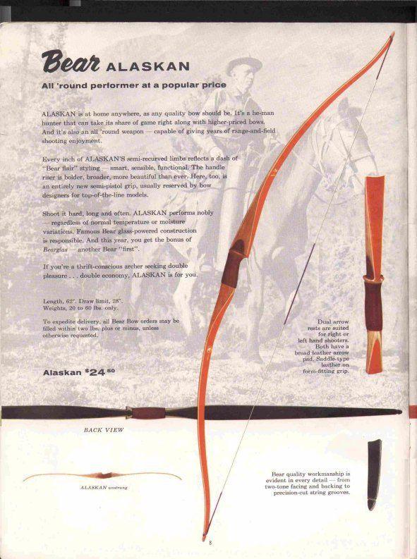 The Best 3-ply B-55//Dacron Flemish string for Bear Alaskan bow or Bear Polar