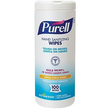 First Responders Healthcare Only Purell Hand Sanitizing Wipes