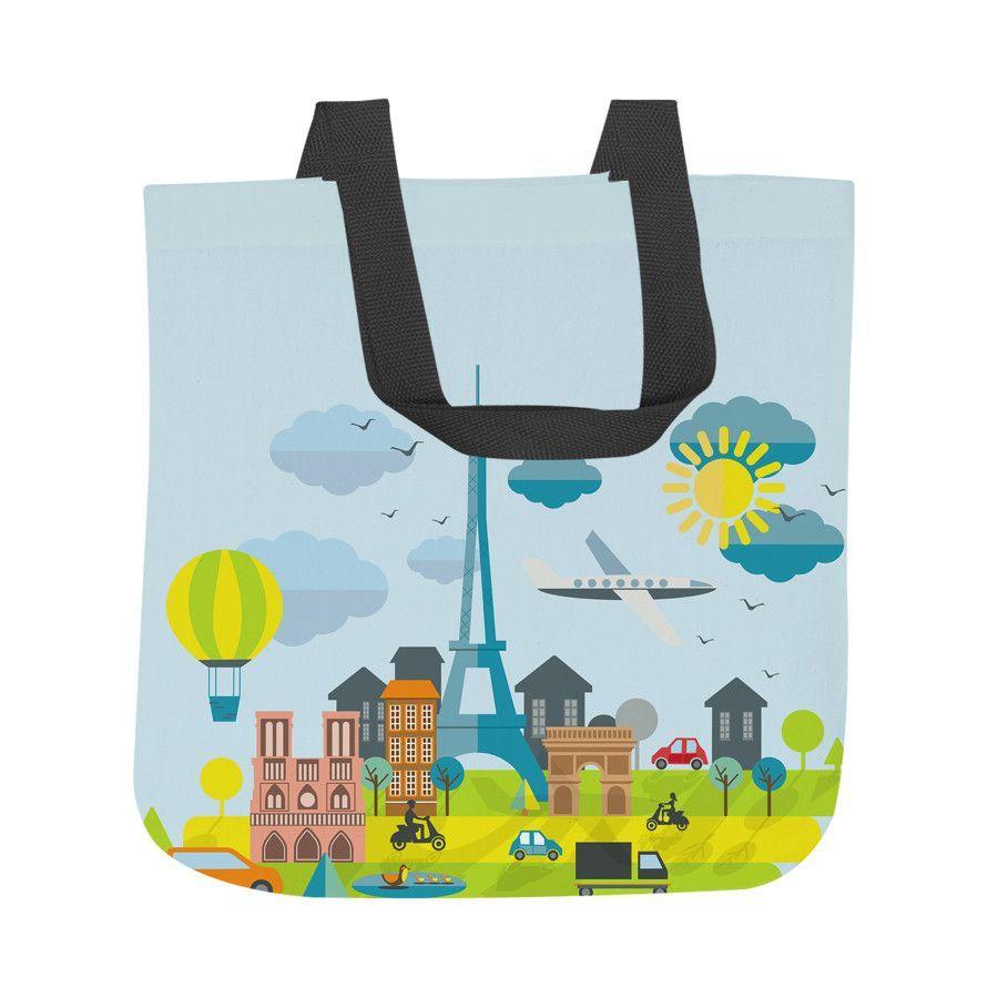 Oui Paris Tote Bag